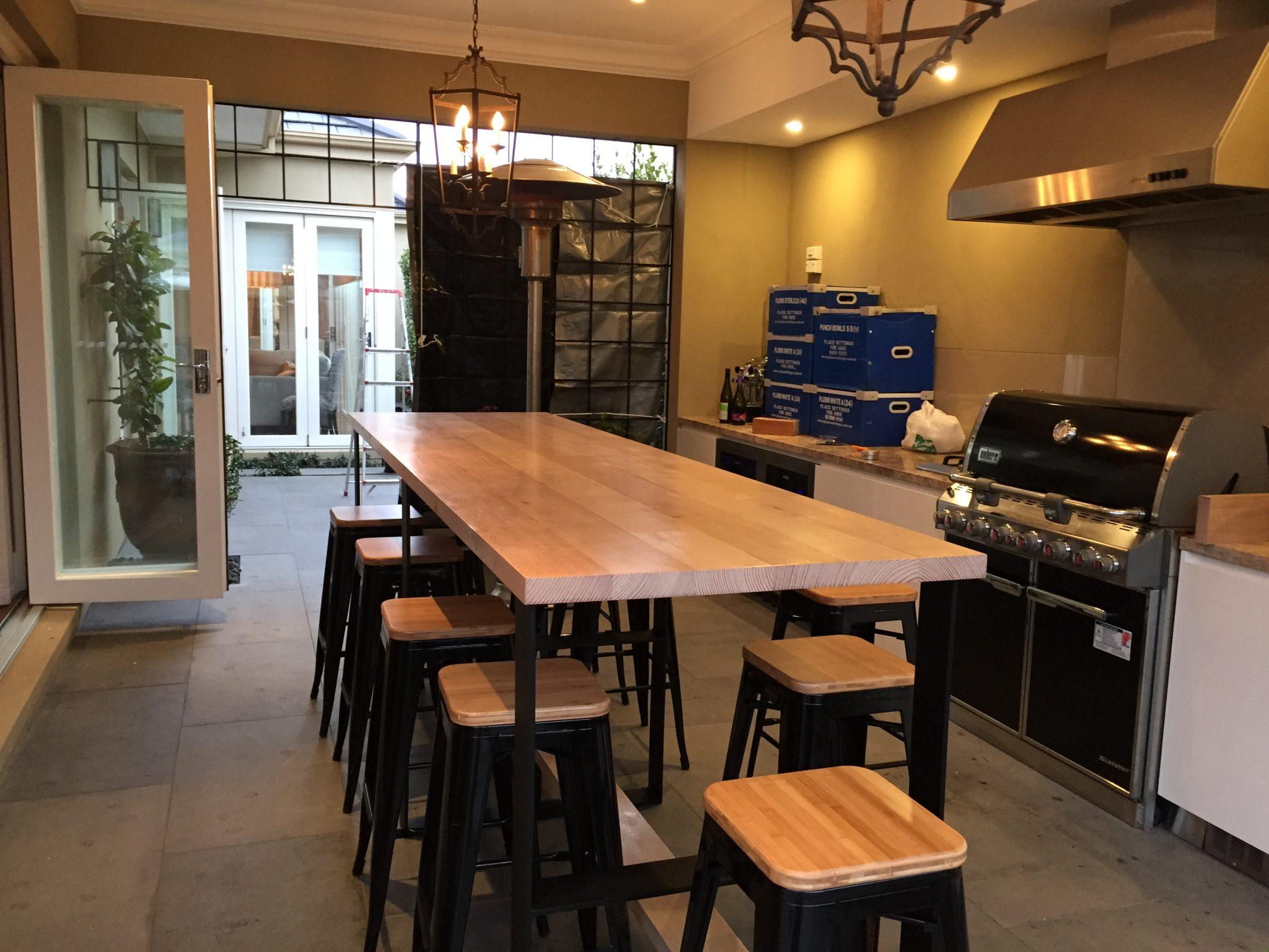 Bruces Bar Bench 3 Metres X 84cm 2 Lumber Furniture