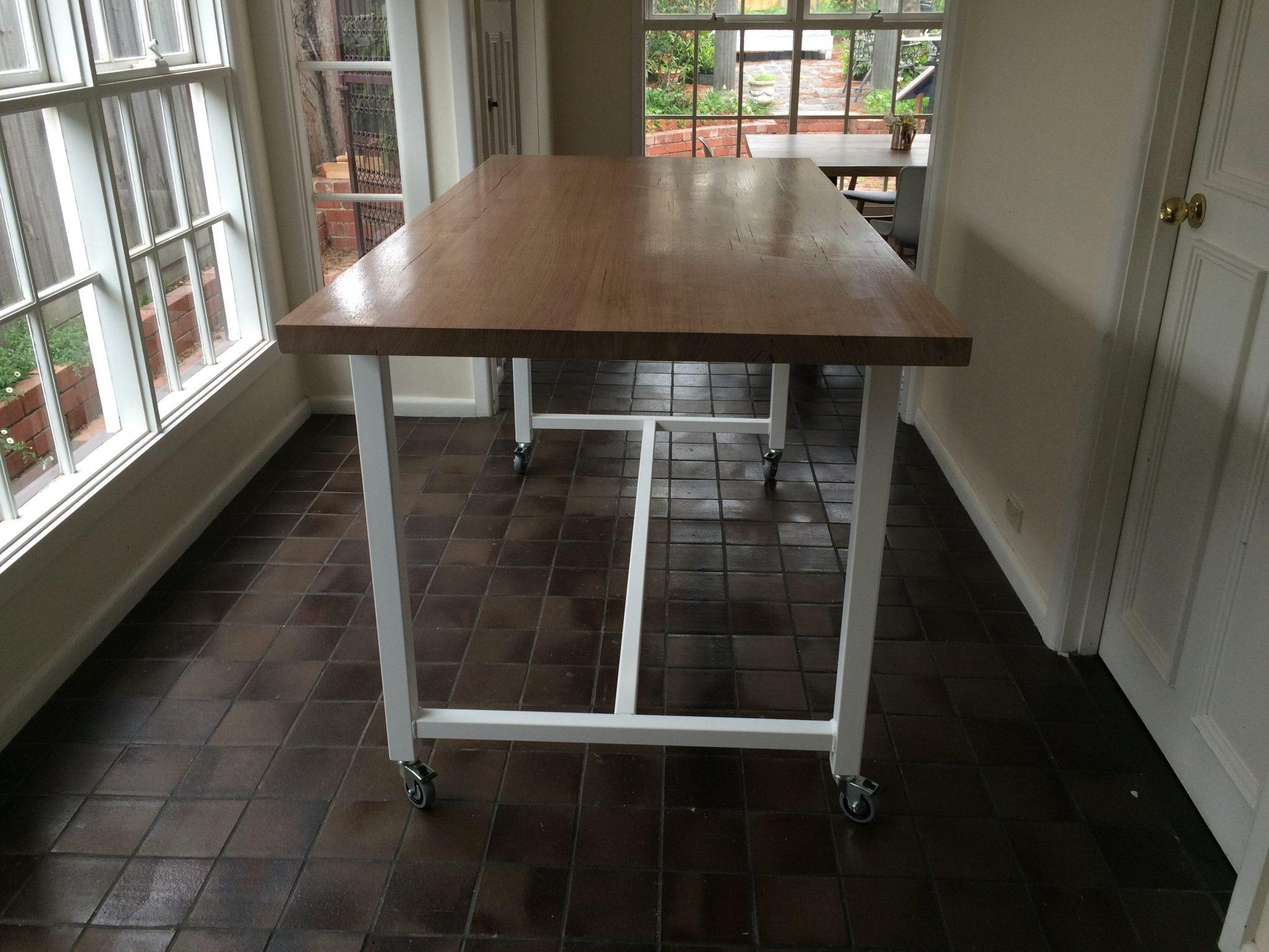 Bespoke Bench Kitchen Island Lumber Furniture