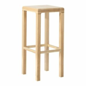 Replica TON CZ Seville Solid Wood European Natural Oak Bar Stool