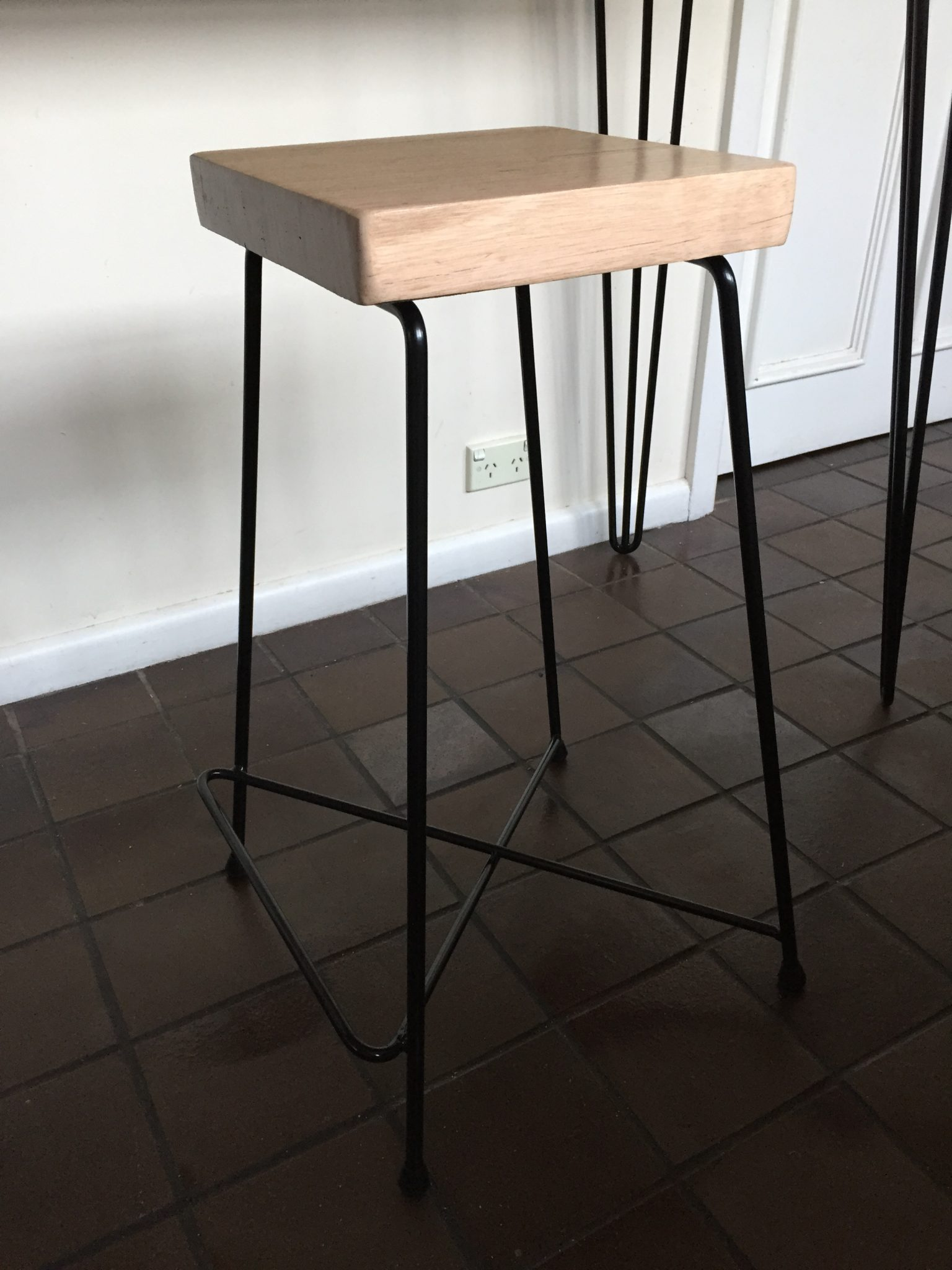 Verity Bar Stool by Lumber Furniture