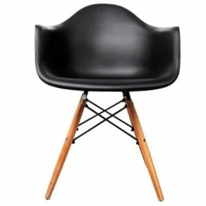 Replica Eames DAW Armchair - Black or White
