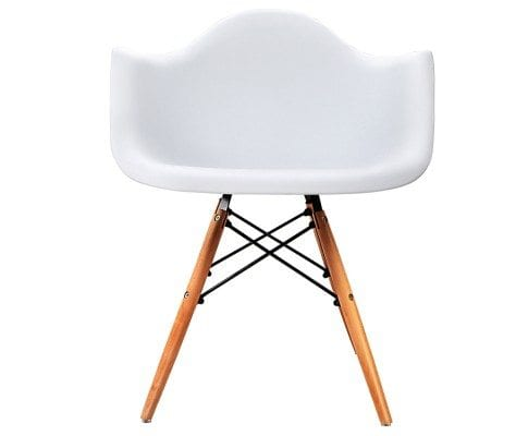 Replica Eames DAW Armchair – Black or White