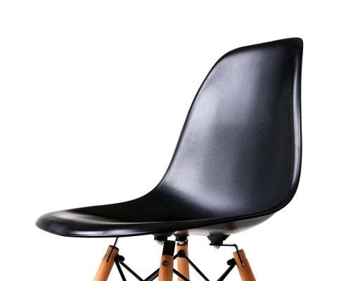 Replica Eames DSW dining chair – Black, White or Red