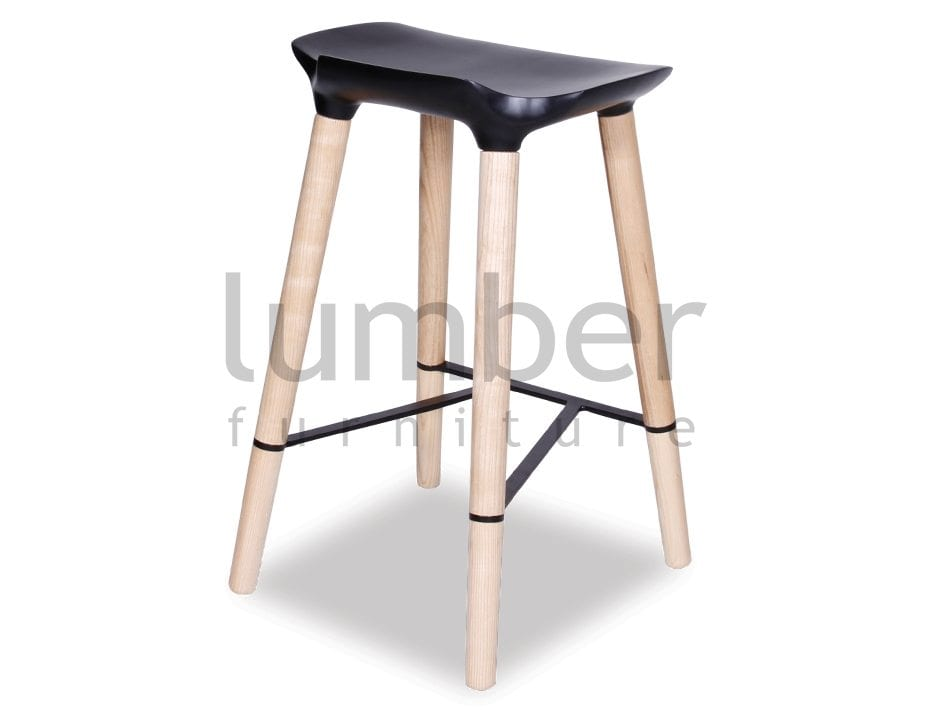 Aston Bar Stool American Ash Timber legs w Black seat  : VAS Aston Bar Stool 5 from www.lumberfurniture.com.au size 925 x 713 jpeg 34kB