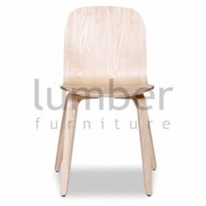 Chloe Chair Natural American Ash Seat and Natural American Ash Legs