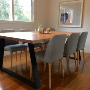 Custom Hardwood Dining Table