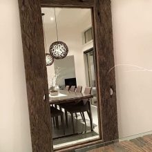 Rustic Timber Mirror