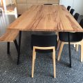 Wormy Chestnut dining table
