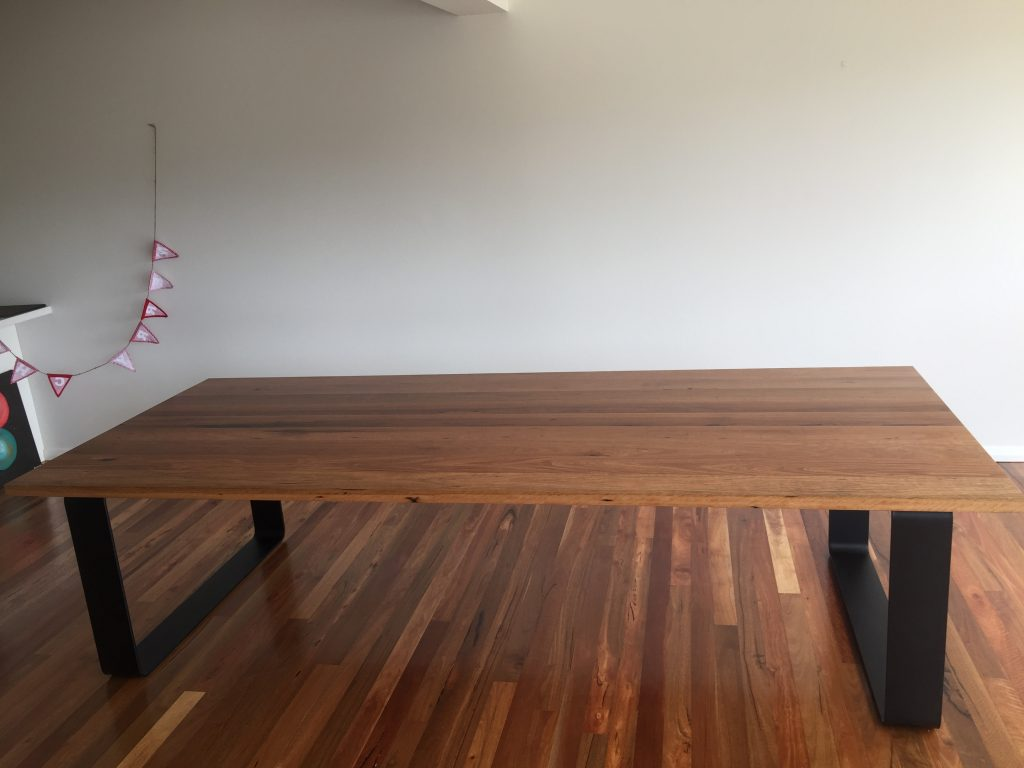 Recycled Spotted Gum King Dining Table