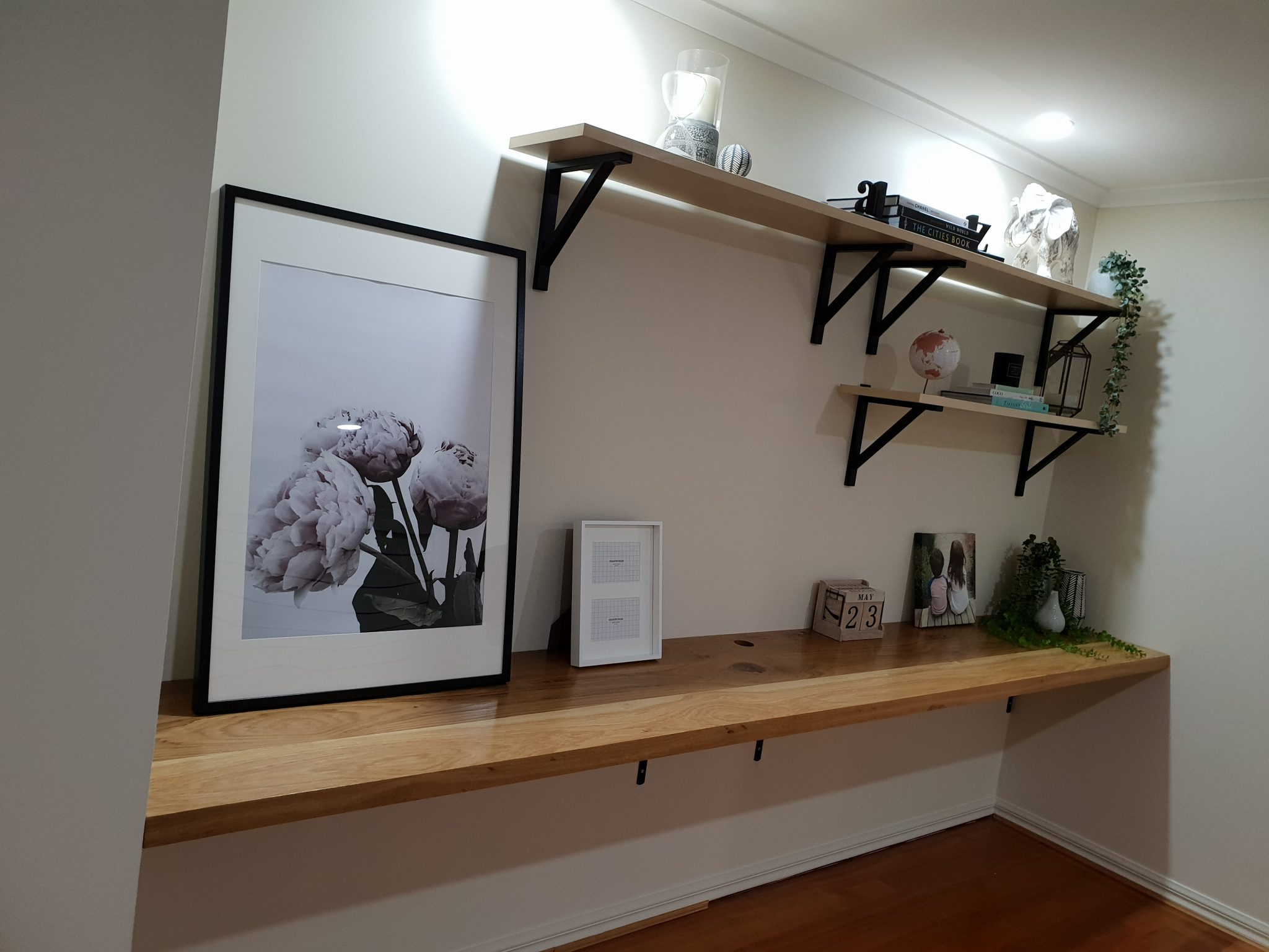 Desk Nook Timber Top
