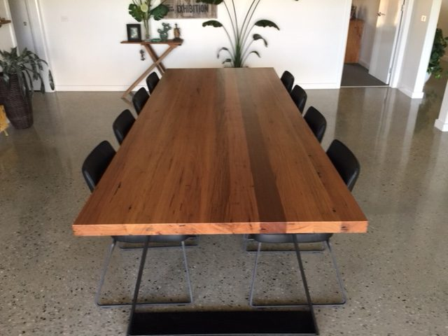 Recycled Northcoast Hardwood Dining Table