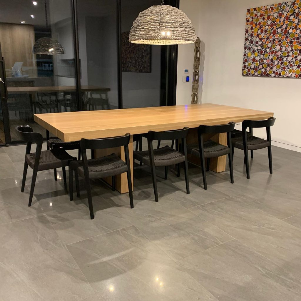 Panel Dining Table